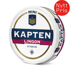 Kapten Lingon mini snus