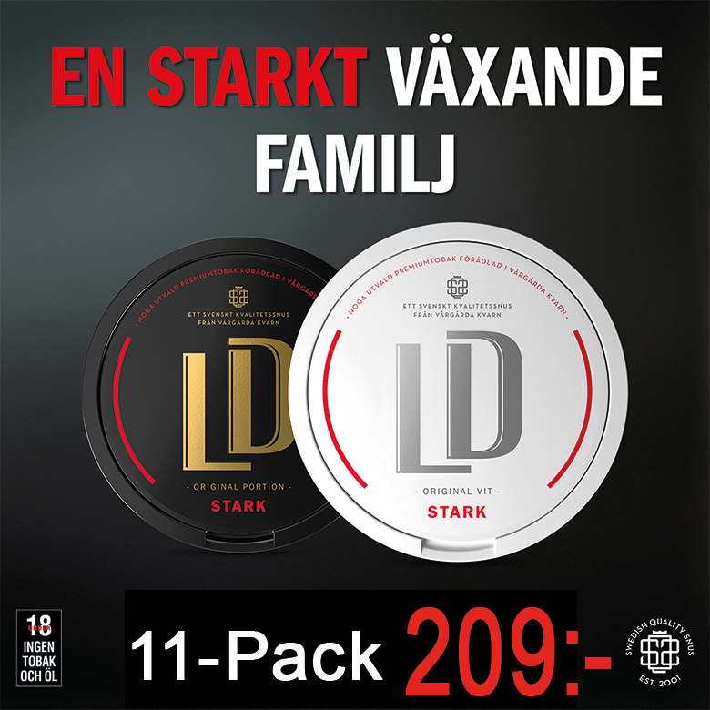 ld portionssnus 11 pack