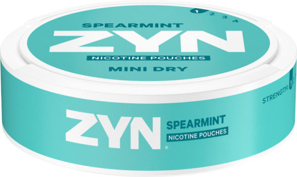 zyn spearmint mini dry slim