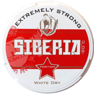 siberia red snus white dry