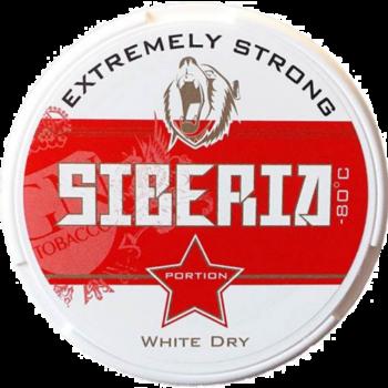 siberia red snus white dry
