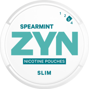 zyn spearmint strong snus