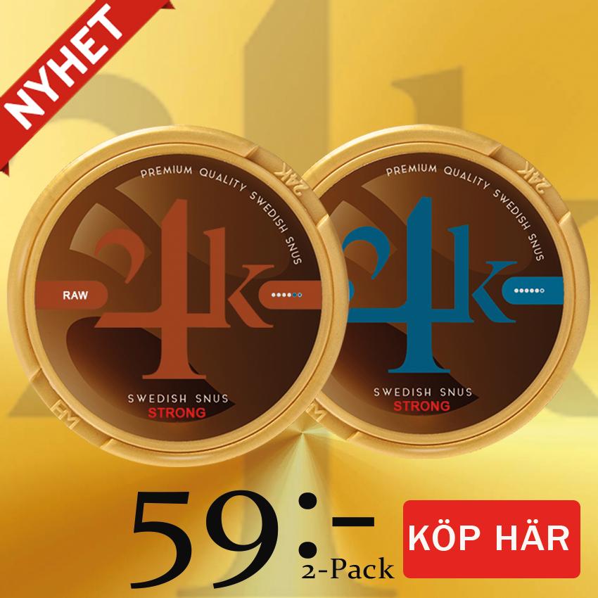 24K snus mix pack banner