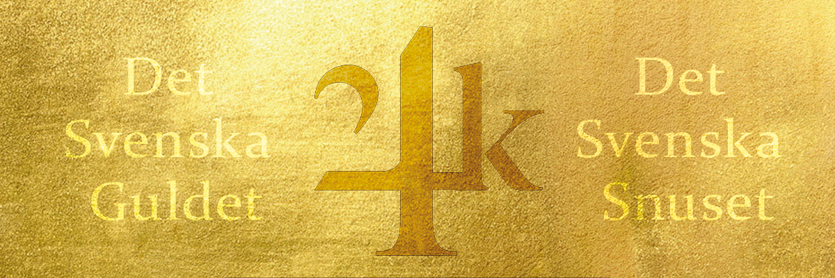 svenskt guld, svenskt snus banner