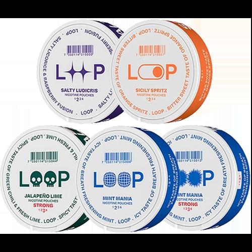 loop mix snus