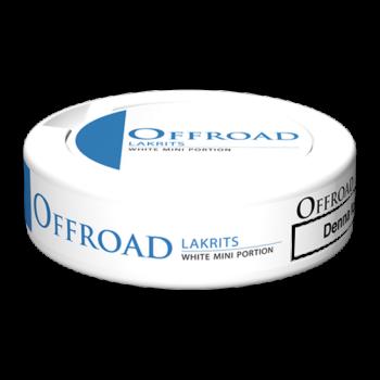 offroad white mini snus lakrits