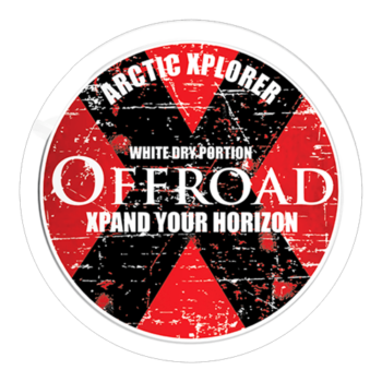 offroad x white dru snus