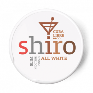 shiro cuba libre all white snus