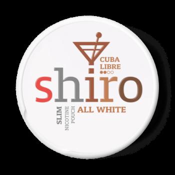 shiro cuba libre all white snus
