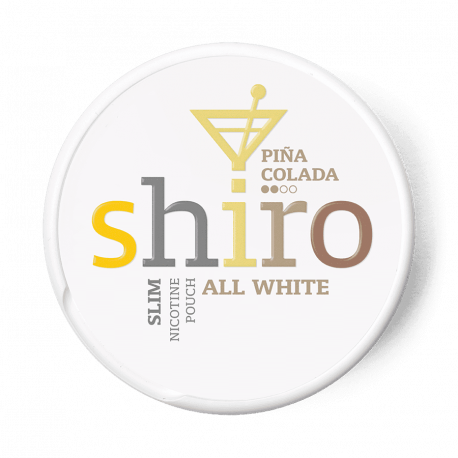 shiro pina colada snus all white