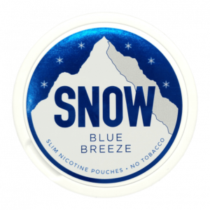 snow blue breeze all white snus