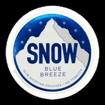 snow blue breeze all white snus