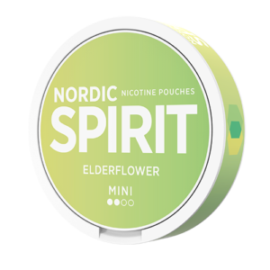 Nordic spirit mini elderflower snus