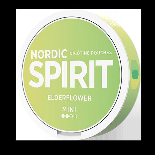 Nordic spirit mini elderflower snus