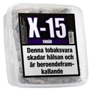 x-15 enbär gör eget snus