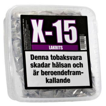 x 15 gör eget snus