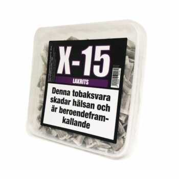 x15 lakrits snussats