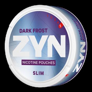 zyn dark frost snus