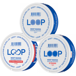 loop mint mix pack snus