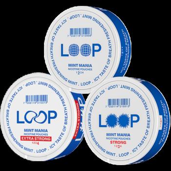 loop mint mix pack snus