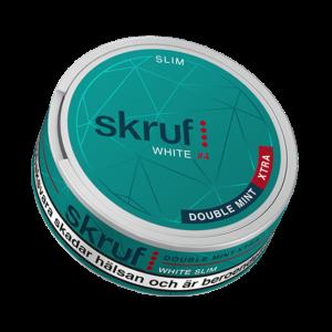 skruf-slim-double-mint-xtra-4-portionssnus