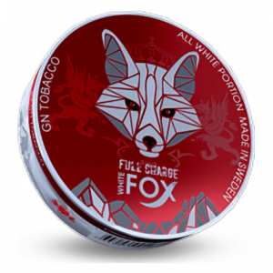 White Fox Full Charge all white snus