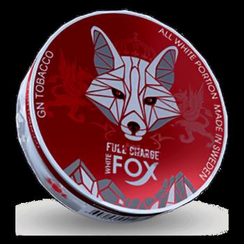 White Fox Full Charge all white snus