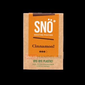 snö cinnamon all white snus mini