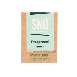 snö evergreen all white snus