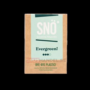 snö evergreen all white snus