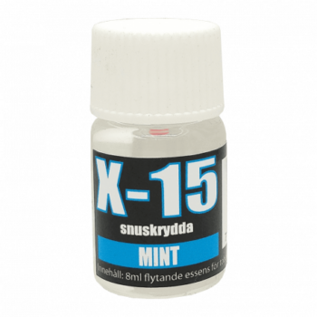 x15 snuskrydda mint