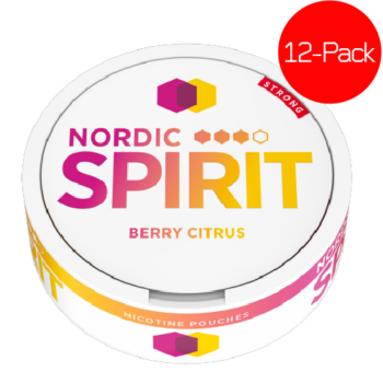 nordic spirit berry citrus strong