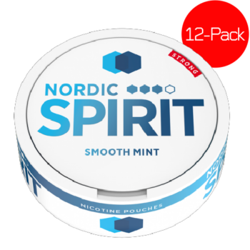 Nordic Spirit Smooth mint white snus