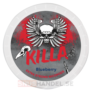 killa blueberry all white snus