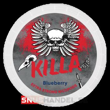 killa blueberry all white snus