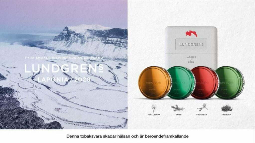 Lundgrens Limited edition snus