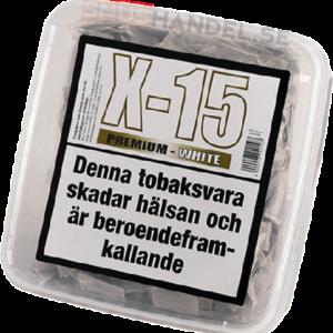 x15 white stark premium snus