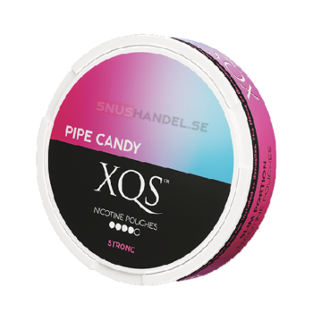 xqs pipe candy all white snus