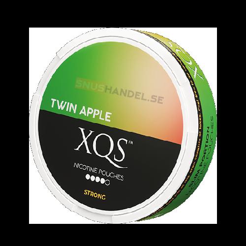 xqs twin apple all white snus