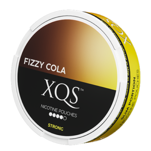 xqs fizzy cola strong all white snus