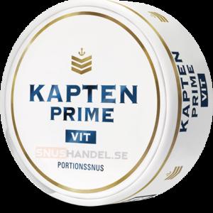 Kapten prime vit portionssnus