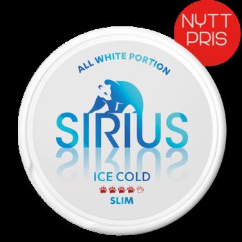 sirius ice cold all white snus