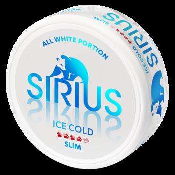 sirius ice cold slim all white snus
