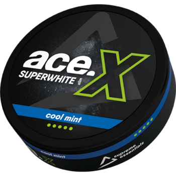 ace x ice cool all white snus