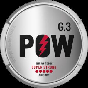 g3 pow super strong snus
