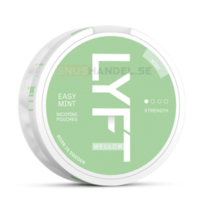 Lyft easy mint mini all white snus