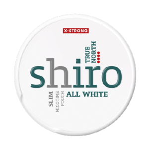 Shiro True North Slim X-Strong All White
