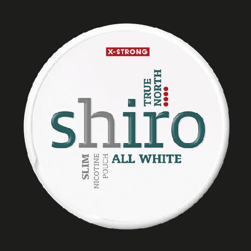 Shiro True North Slim X-Strong All White