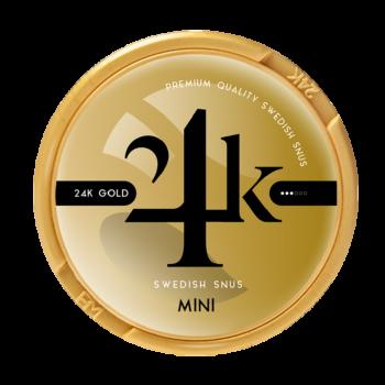 24k gold mini snus