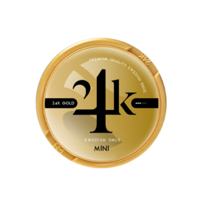 24k gold mini snus